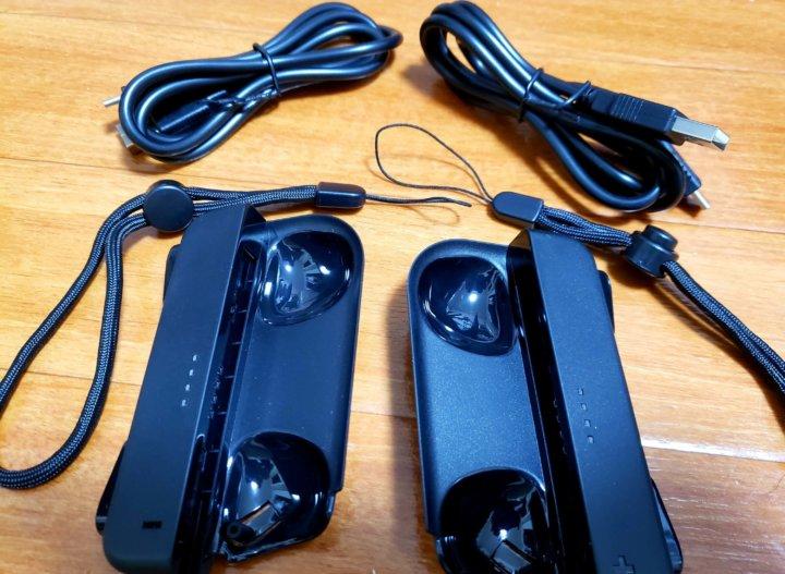 Joy-Con充電ハンドル グリップ 同梱品